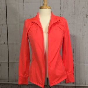 Jackets & Blazers - Coral athletic jacket